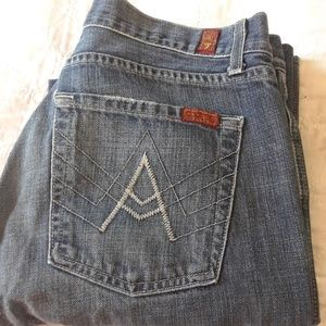 """33x31 7 For All Mankind Women's """"A"""" Jeans"""